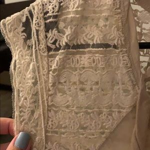 Dkny Tops - DKNY white lace Top